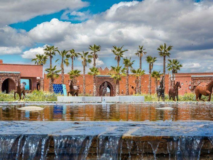 Découverte en photographies du parc à thèmes Adouar Marrakech