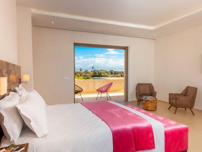 Photos de chambre d'hotel de luxe à Marrakech