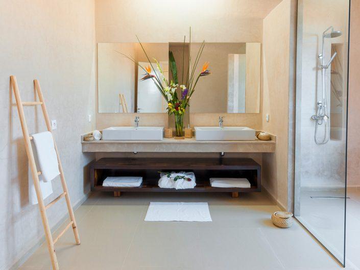 Photographie salle de bain villas de luxe à Marrakech