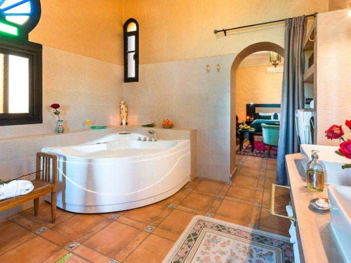 Photo salle de bain maison d'hôtes La Citadelle Marrakech