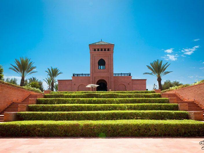 Photographe spécialiste de l'hôtellerie de luxe : Palais Selman Marrakech