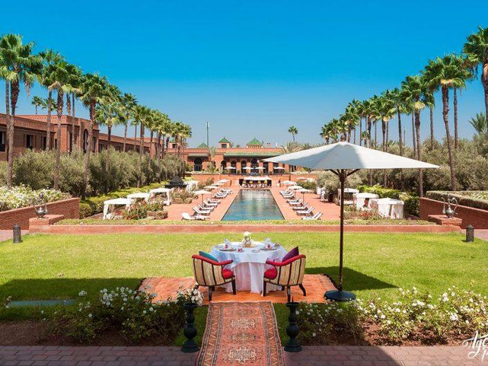 Photographe pour hôtels et hôtellerie de luxe : Palais Selman Marrakech