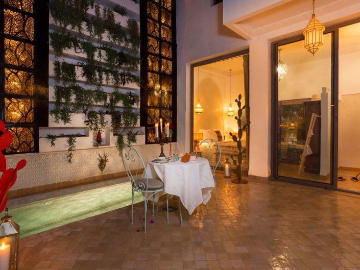 Photographie d'établissements de luxe à Marrakech