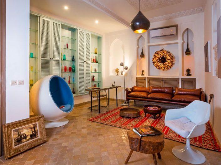 Photographe hôtel de luxe et design d'intérieur à Marrakech