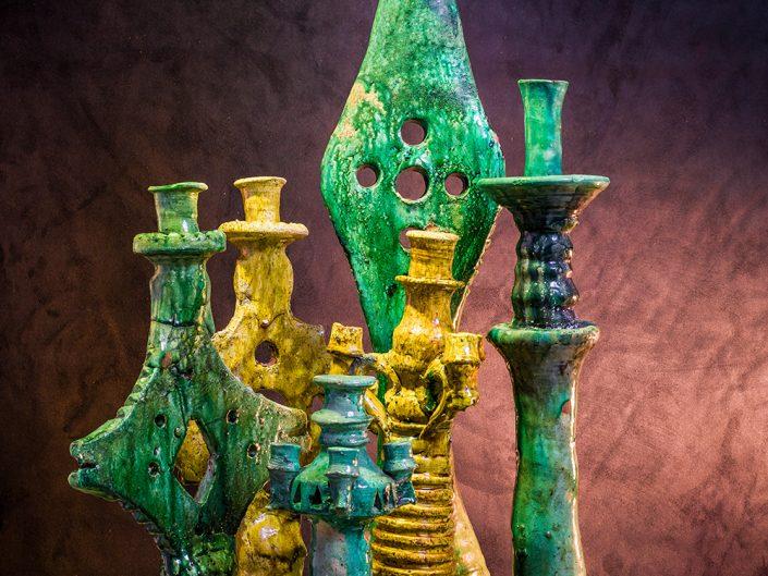 Packshot poterie céramique à Marrakech Maroc