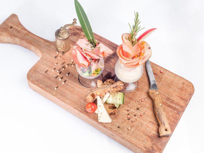 Photographie culinaire des plats