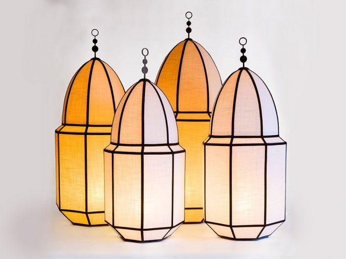 Packshot luminaires à Marrakech, Maroc