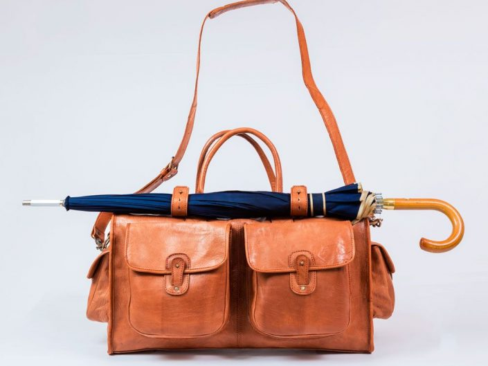 Packshot de sac à main en cuir à Marrakech