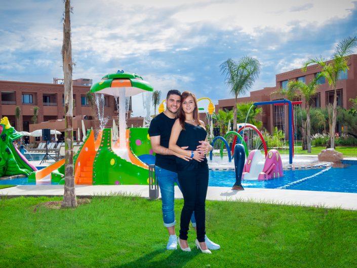 Séance shooting photo pour couple en amoureux à Marrakech