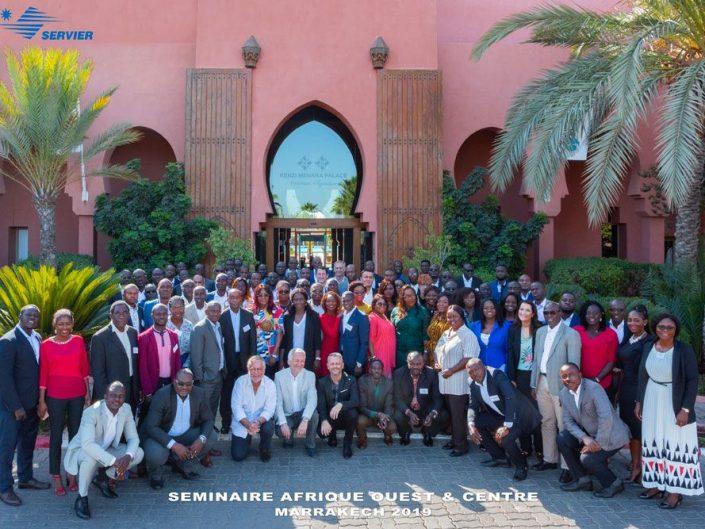 Reportage photo événementiel pour un séminaire d'entreprise à Marrakech