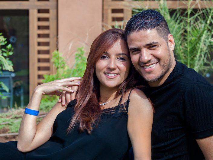 Shooting photo de couple sur mesure à Marrakech