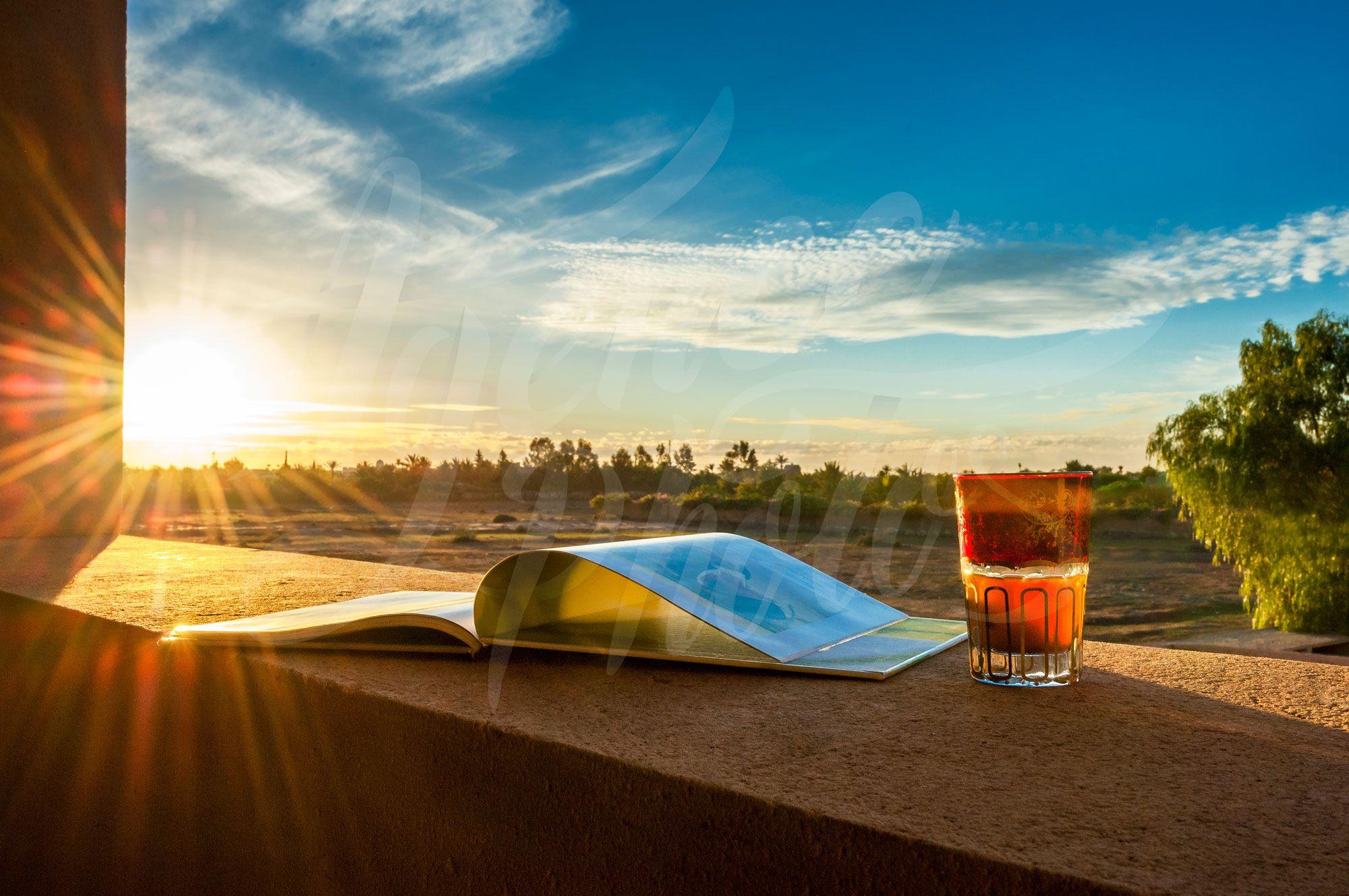 Photographier un coucher de soleil à Marrakech